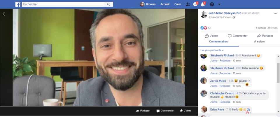 Jean-Marc Dedeyan enneagramme formation live facebook